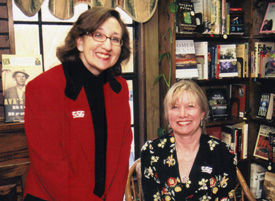 Nancy with Cassandra King
