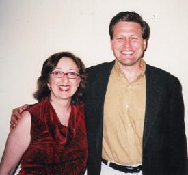 Nancy with David Balducci